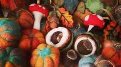 Felted Seasonal Decorations