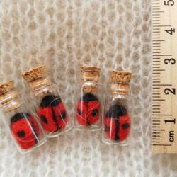 Ladybird in a Glass Bottle