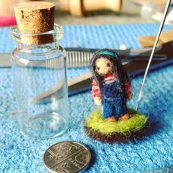 Mini Me ready for Glass Bottle