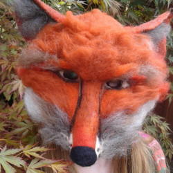 fox-mask-felt-head-face-party-larp-vogue-magazine_apulina_felting_felted_animals_felt_miniatures_woo