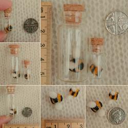 Needle Felt Bee Bottle