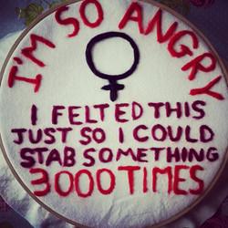 Felt Feminist Art
