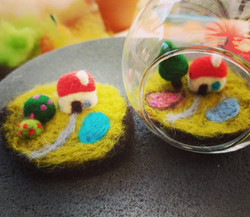 Felted Miniatures and Curiosities