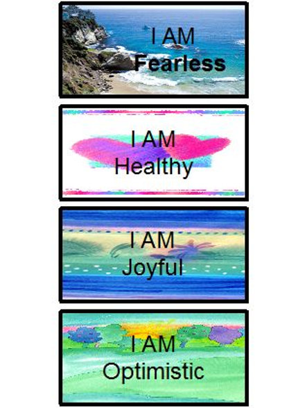Small I AM Affirmation Cards (72 Cards)