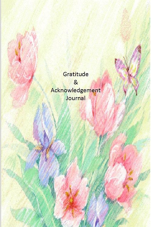 Gratitude and Acknowledgement Journal (Medium)
