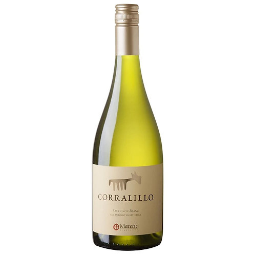 Sauvignon Blanc, Corralillo, Matetic Vineyards Chile