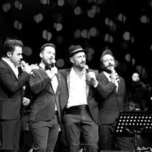 La Noche de los Crooners (Mike Martín, Gonzalo Alcaín, Javier Botella y Litus)