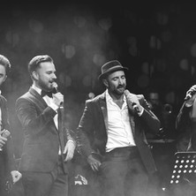 Mike Martín, Gonzalo Alcaín, Javier Botella y Litus (La Noche de los Crooners)