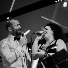 Javier Botella y Celia Mur en la sala Jerusalén (Valencia)