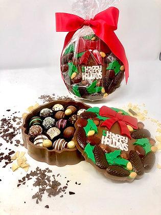 Wreath Chocolate Box