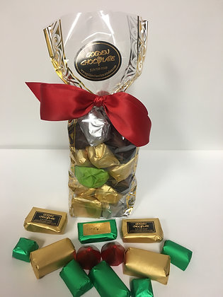 Wrapped Chocolate Gift Bag (Nuts Only)