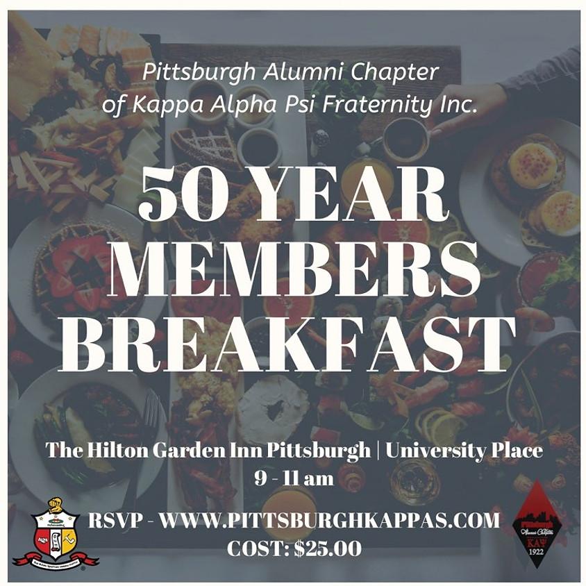 50 Year Members Breakfast