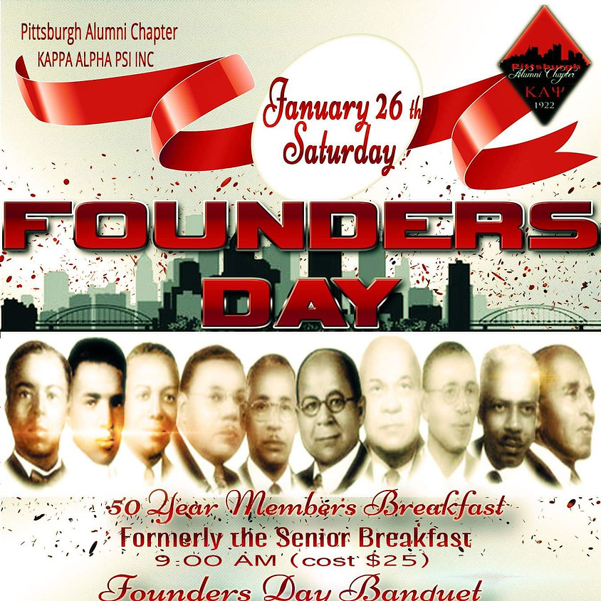 Pittsburgh Alumni Chapter's 2019 Founder's Day celebration