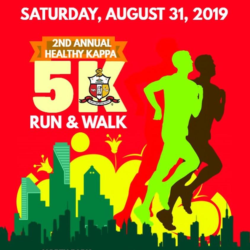 2ND Annual Healthy Kappa 5K Run & Walk