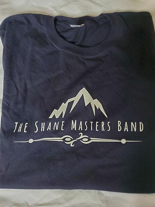 Black Shane Masters Band T-Shirt