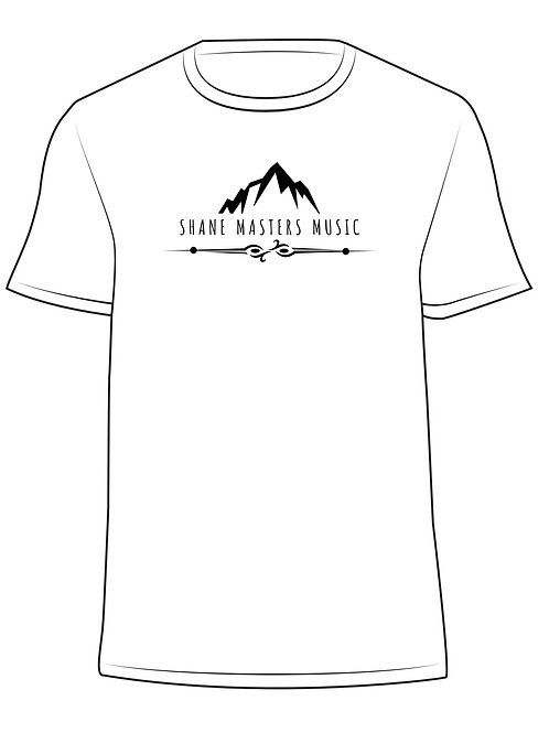 White/Black Shane Masters Music T-Shirt