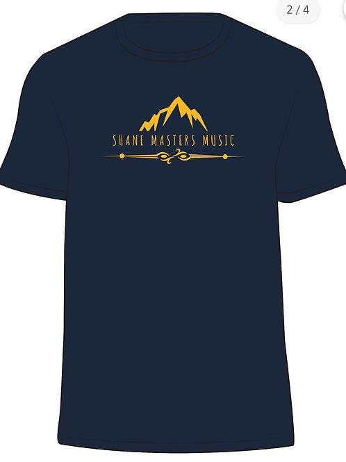 Navy/Gold  Shane Masters Music T-Shirt