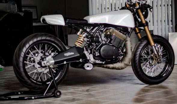 """RD 350 Cafe Racer """"Ibex"""""""