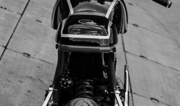 """RD 350 cafe racer """"VII"""""""