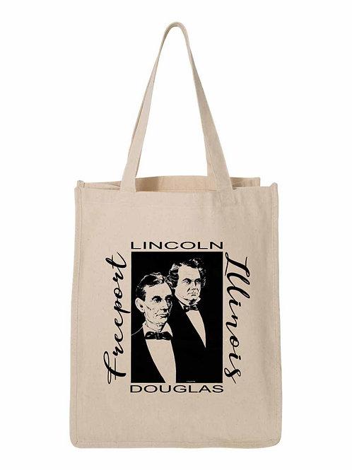 Lincoln Douglas 1958 Debate Inspired Design - Freeport, IL FA036