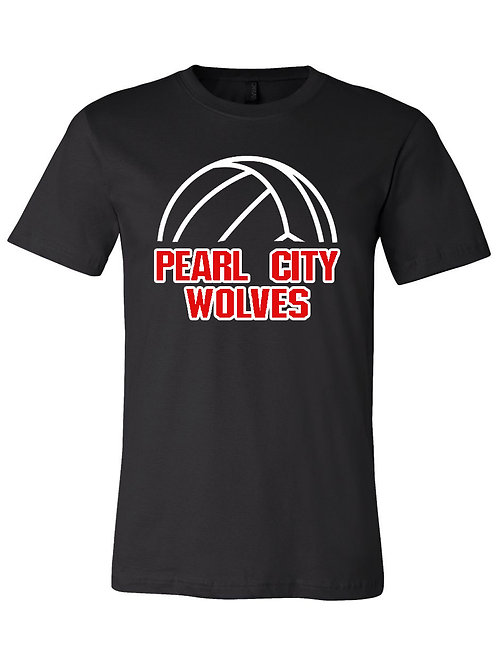 Pearl City Wolves Volleyball Shirt S048