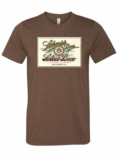 Schmich Bros Beer Shirt - Freeport IL  B-04