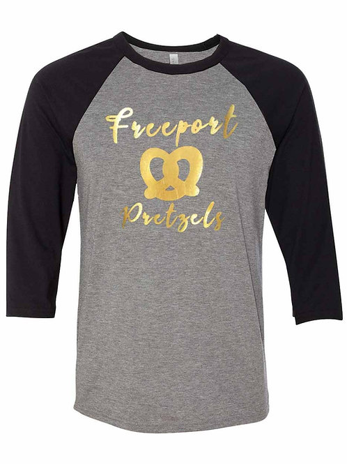 Gold Foil Freeport Pretzel Shirt / Hoodie  S053