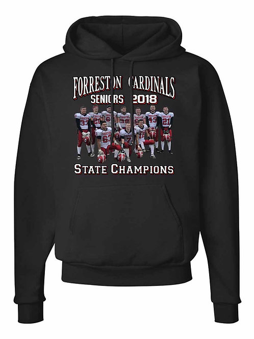 Forreston Cardinals Seniors 2018 State Champions S073