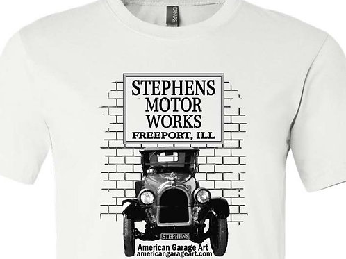STEPHENS MOTOR WORKS Shirt with Stephens Car - A 008