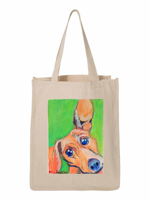 Small Dog Bag - art by Mia Rudolph D1-048