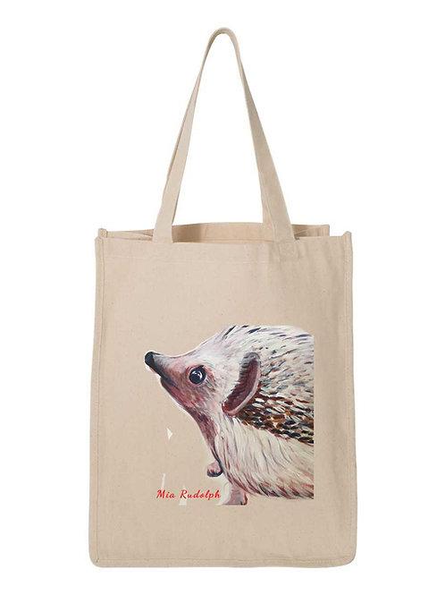 Hedgehog Bag - Art by Mia Rudolph D1-023