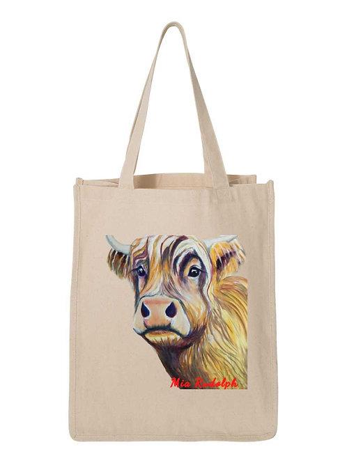 Cow Bag - Art by Mia Rudolph D1-060
