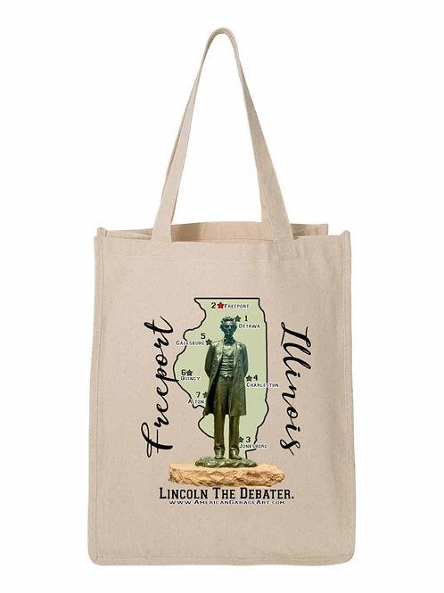 Lincoln The Debater Bag - Freeport, IL FA001