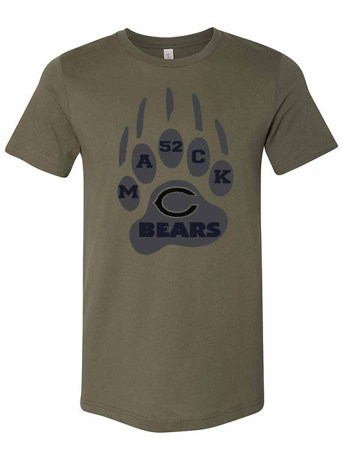 Bears Military Green Claw Mack 52 Shirt - D2-66