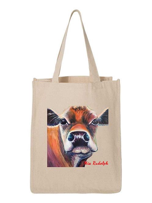 Cow Bag - Art by Mia Rudolph D1-064