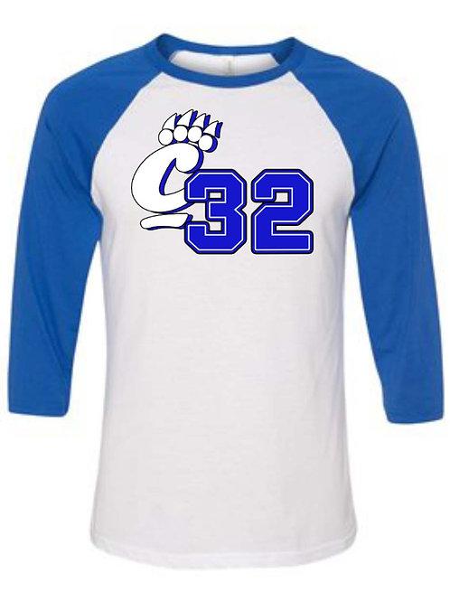 EPC 2 Sided 3/4 length Baseball Style Shirt S050