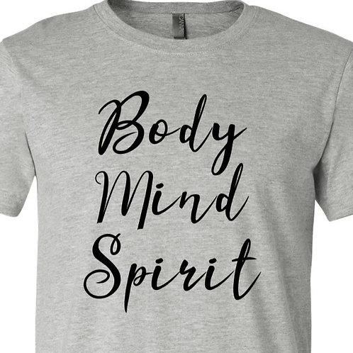Body Mind Spirit Shirt - D-067