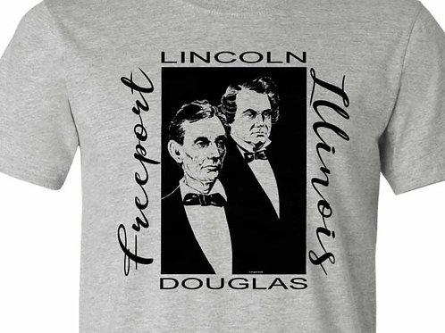 Lincoln Douglas 1958 Debate Inspired Shirt - Freeport, IL FA-36