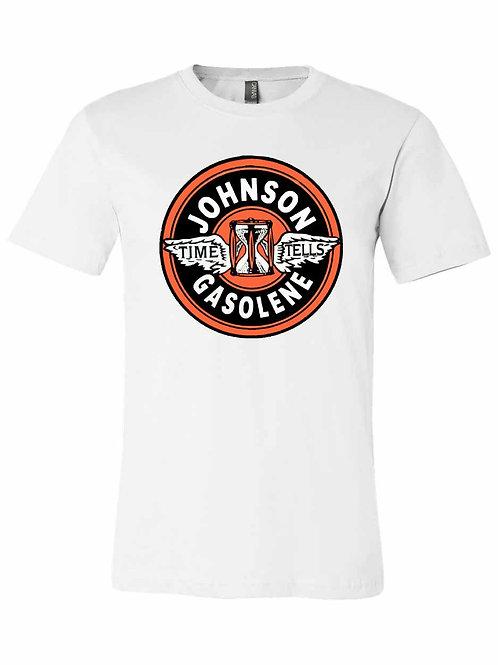 Vintage Johnson Gasoline Sign Shirt - A002