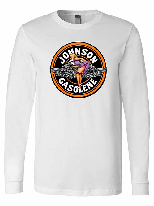 Vintage Johnson Gasoline Sign Shirt - A001