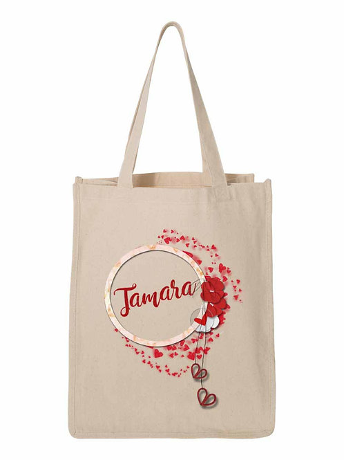 Wedding Party Hearts Bags Personalized W-002