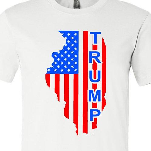 Illinois Trump D-117 Charitable Donation Shirt