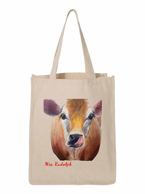 Cow Bag - art by Mia Rudolph D1-013