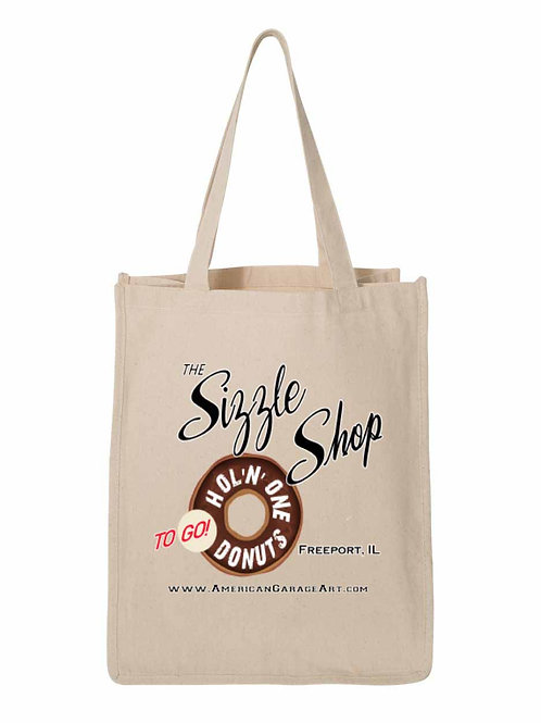 The Sizzle Shop Bag - Freeport, IL.