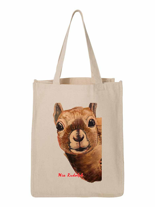 Squirrel Bag - art by Mia Rudolph D1-045