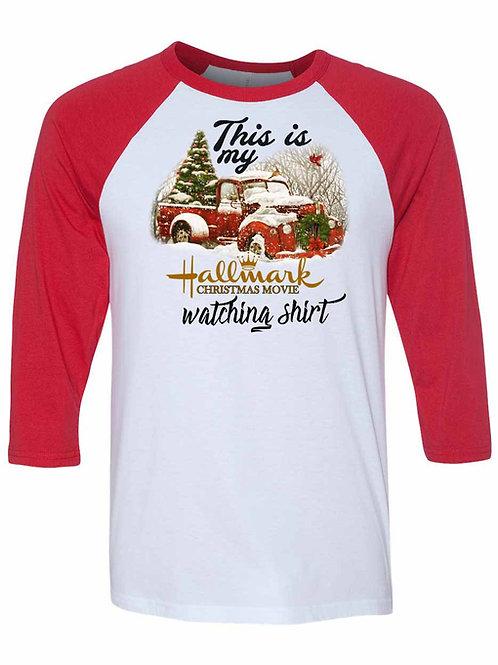 Hallmark Christmas Movie Watching Shirt - X015
