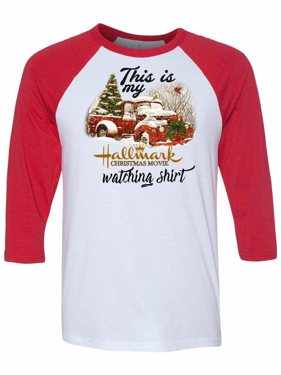 Hallmark Christmas Shirt.Hallmark Christmas Movie Watching Shirt X015