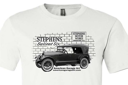 STEPHENS MOTOR WORKS - Salient Six - Shirt with Stephens Car - A 009