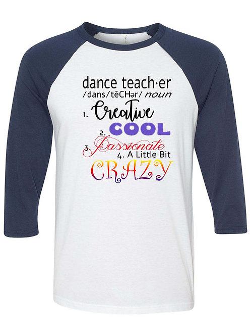Dance Teacher Definition  - D2-074