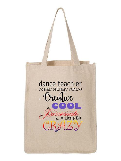 Dance Teacher Definition Bag - D2-074